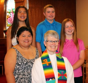 On June 5, 2016 we welcomed four young people at their Confirmation Service at BUC - a most happy time of celebration!